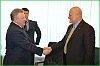 Вячеслав Шпорт встретился с президентом компании «Балтика» Исааком Шепсом