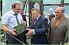 Вячеслав Шпорт посетил Хабаровское специализированное лесное хозяйство
