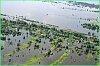Члены краевой комиссии по ЧС облетели затопленные территории пригорода Хабаровска