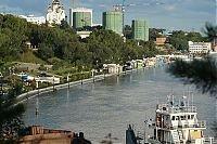Уровень Амура у Хабаровска вода упала на 26 см