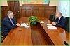 Вячеслав Шпорт встретился с вице-губернатором Санкт-Петербурга Владимиром Лавленцевым