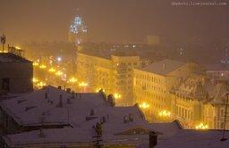 Новогоднее настроение над Хабаровском