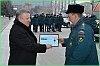 Вячеслав Шпорт вручил спасателям ключи от новой техники