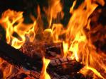 В результате пожара в доме на улице Автобусной в Хабаровске погиб человек