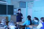 Основам пожарной безопасности хабаровских школьников обучают сотрудники МЧС