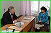 В Комсомольске-на-Амуре Вячеслав Шпорт провел прием граждан по личным вопросам