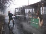 Как действовать при возникновении пожара в общественном транспорте