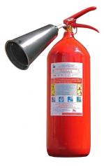 Знакомимся с первичными средствами пожаротушения