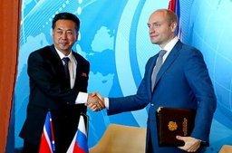 А.Галушка: «Ставим задачу увеличить товарооборот с КНДР до 1 миллиарда долларов к 2020 году»
