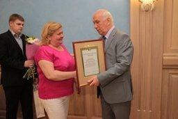 В Хабаровске в канун профессионального праздника наградили лучших работников отрасли «Социальная работа с населением»