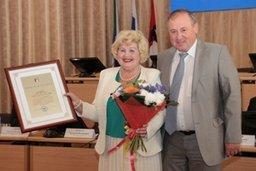 Совет политических партий и общественных организаций при мэре города Хабаровска отметил свое 15-летие. Активисты получили награды