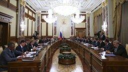 Александр Галушка принял участие в заседании Правительства.