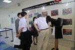 17.07.2014 Аэропорт Хабаровск с дружественным визитом посетила делегация муниципалитета Ниигаты (Япония)