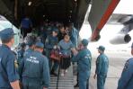Самолет МЧС России доставил в Хабаровск жителей Украины