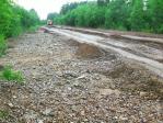 В реках Охотского района наблюдается спад уровня воды