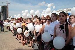 Хабаровские школьники включились в акцию «Во Славу отцов и Отечества!», старт которой дал сегодня мэр города Александр Соколов