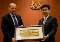 Министр Российской Федерации по развитию Дальнего Востока работает в Сингапуре