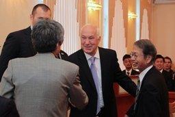 Мэр Хабаровска Александр Соколов встретился с официальной делегацией города Ниигата (Япония)
