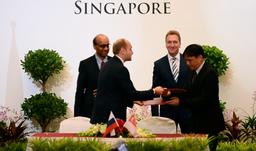 Подписан Меморандум о взаимопонимании между Минвостокразвитием и правительственным агентством Сингапура