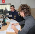 Радио-урок по основам гражданской обороны провели в Хабаровске сотрудники Главного управления МЧС России по Хабаровскому краю (аудио)