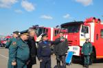 В день Гражданской обороны в Хабаровске развернулась выставка пожарной и аварийно-спасательной техники