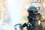В Хабаровске пожарные-спасатели ликвидируют последствия условной аварии на железной дороге