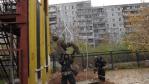 В городе Хабаровске состоялись соревнования огнеборцев по спасению людей при пожарах в высотных зданиях