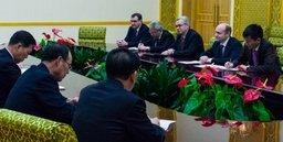 Министр Российской Федерации по развитию дальнего Востока Александр Галушка находится с недельным визитом в КНДР