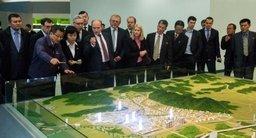 Делегация российских бизнесменов посетила Кэсонскую промышленную зону и планируемую к созданию специальную экономическую зону в городе Чондин.