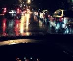 В дождливую погоду дорога становится небезопасной