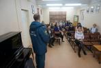 В детской музыкальной школе № 4 города Хабаровска прошла тренировка по эвакуации
