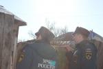 Сотрудники пожарного надзора напоминают о соблюдении требований пожарной безопасности при использовании отопительных печей