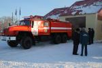 В Черняевском сельском поселении района имени Лазо торжественно открыта новая пожарная часть № 55