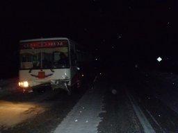Дорожно-транспортное происшествие с участием пассажирского автобуса