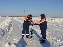 В районе имени Лазо Хабаровского края открылась ледовая переправа