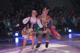 Мэр Хабаровска Александр Соколов подарил школьникам ледовую сказку