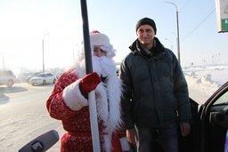 """""""Играй по правилам"""" - под таким девизом в Хабаровске проходят Новогодние акции с водителями"""