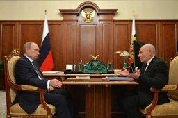 Президент России и губернатор Магаданской области обсудили планы реализации закона о ТОР в регионе