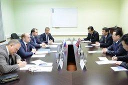 Министр Александр Галушка провел встречу с Послом КНДР в России Ким Хен Чжуном