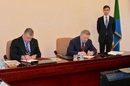 Правительство Хабаровского края и ОАО «РЖД» подписали соглашение о сотрудничестве