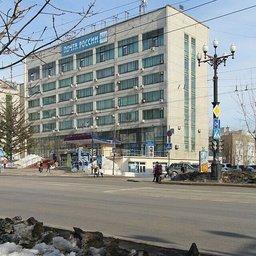 Хабаровский главпочтамт стоит памятником той эпохе