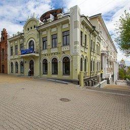 Здание на углу улиц Муравьева-Амурского (дом №8, правое крыло) и Инженерной (сейчас Тургенева)