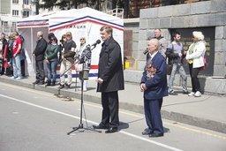 В Хабаровске прошла традиционная эстафета в честь годовщины Победы