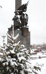 Снег в мае это норма для Хабаровска