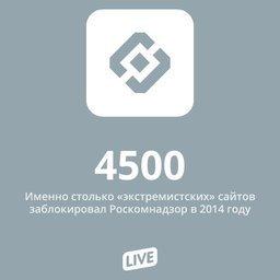 Глава Роскомнадзора сообщил, что в прошлом году ведомство ограничило доступ к 4,5 тысячам сайтов