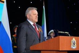Краевое торжественное собрание, посвященное юбилею Победы, прошло в Хабаровске