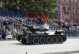 В Хабаровске завершился юбилейный парад Победы
