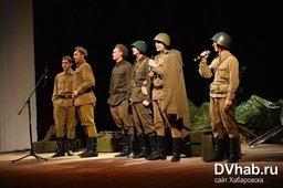 Концерт, посвященный юбилею Победы, состоялся в Театре драмы