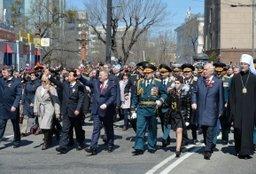 Делегация из китайской провинции Хэйлунцзян приняла участие в торжествах по случаю 9 мая в Хабаровске