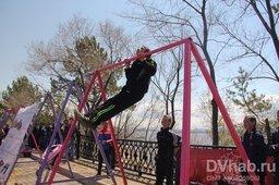 В Хабаровске прошла традиционная акция «Рекорд Победы»